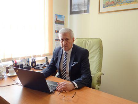 Zdjęcie przedstawia Zastępcę Burmistrza Miasta Koła Lecha Brzezińskiego